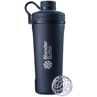 BlenderBottle Radian Insulated Stainless Steel joogipudel, Must (770 ml)