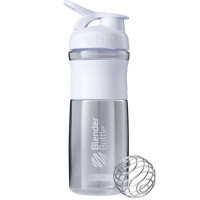 BlenderBottle Sportmixer Grip šeiker-joogipudel, Clear-White (820 ml)