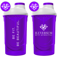 Iluversum šeiker, Insane Purple (600 ml)
