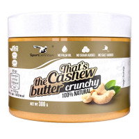 Sport Definition That's the Cashew Butter india pähklivõi, Crunchy (300 g)