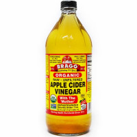 Bragg Apple Cider Vinegar w/Mother orgaaniline siidriäädikas (946 ml)