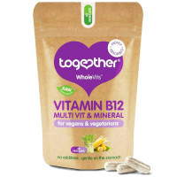 Together Health WholeVits™ B12 Veggie Multi vitamiinide kompleks kapslid (60 tk)