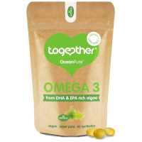 Together Health OceanPure™ Omega-3 vetikaõli kapslid (30 tk)