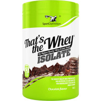 Sport Definition That's The Whey Isolate vadakuvalguisolaat, Šokolaadi (600 g)