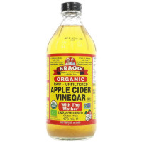 Bragg Apple Cider Vinegar w/Mother orgaaniline siidriäädikas (473 ml)