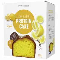 Body Attack Low Carb Protein Cake, Sidruni (150 g)