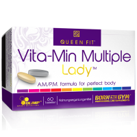 Olimp Queen Fit Vita-Min Multiple Lady - vitamiinid naistele (60 tk)
