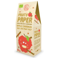 Diet Food Fruity Paper orgaanilised marjakrõpsud, Õuna-kaneeli (25 g)
