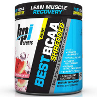 BPI Sports Best BCAA Shredded L-karnitiini ja L-tsitrulliiniga, Watermelon (300 g)