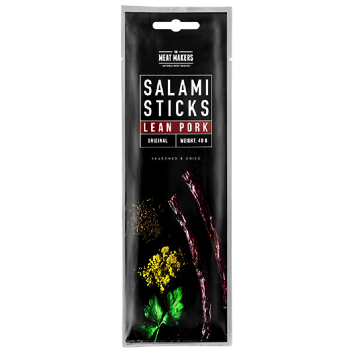 Salami Sticks, Lean Pork Original (40 g)
