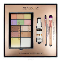 Makeup Revolution Pro Amplified Sculpt & Fix komplekt