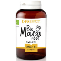 Diet Food Bio Maca Extract 4:1 maca juureekstrakti tabletid (240 tk)